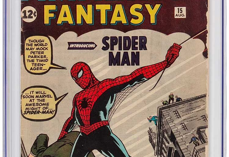 Heritage Auctions Amazing Fantasy #15