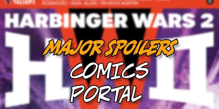 Comics Portal Valiant Harbinger Wars 2