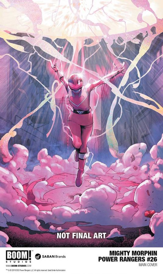 Mighty Morphin Power Rangers #26 Power Rangers Shattered Grid