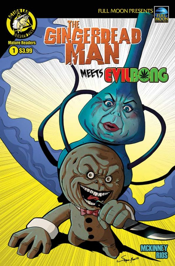 Gingerbread Man Meets Evil Bong #1
