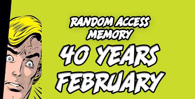 Random Access Memory February 2018 Comic Book Memories Ookla the Mok Rand Bellavia