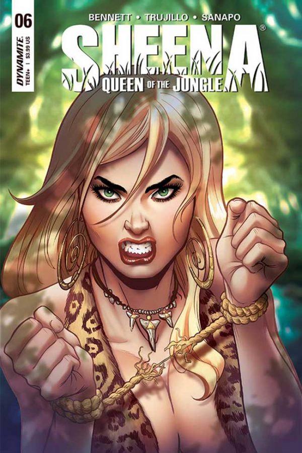 Sheena Queen of the Jungle #6