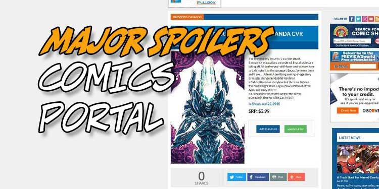 Comics Portal Previews World Diamond Comic Distributors