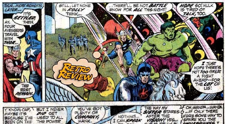 Avengers #100 Retro Review
