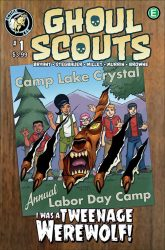 Ghoul Scouts I was a teenage werewolf #1