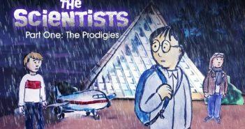 Wayne Hall, Wayne's Comics, Scientists, Prodigies, Stuart Chin, Trent Beckett,