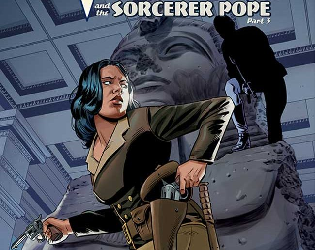 Athena Voltiare and the Sorcerer Pope #3