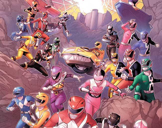 Power Rangers; Shattered Grd