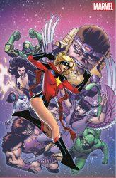 Captain Marvel Carol Danvers Variant Covers