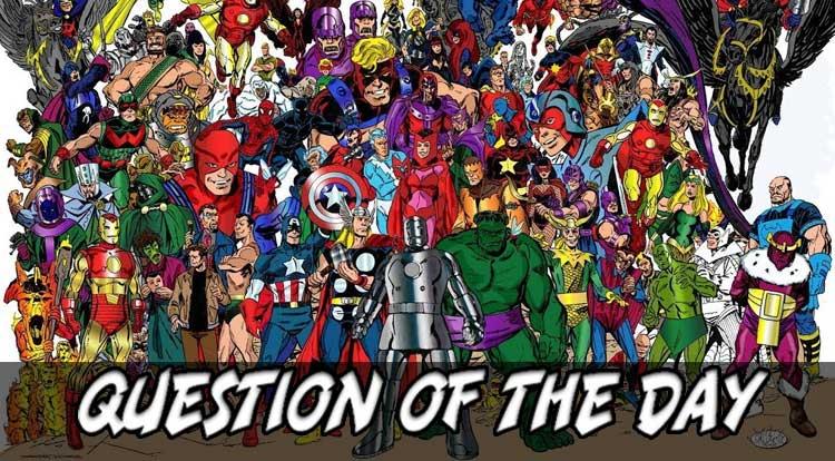Which Avenger QOTD
