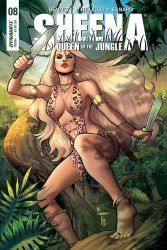 Sheena: Queen of the Jungle #8