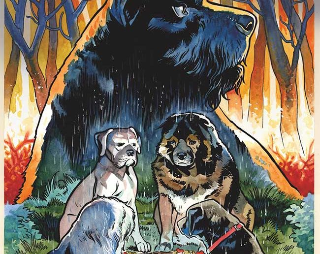 Beasts of Burden: Wise Dogs and Eldritch Men