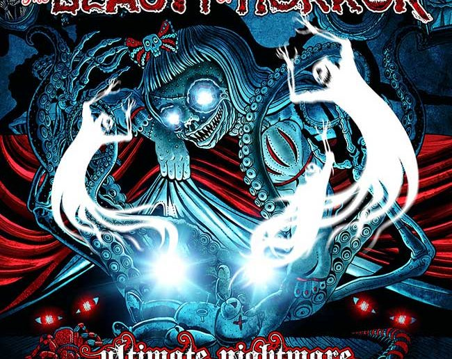The Beauty of Horror: Ultimate Nightmare, Deluxe Coloring Set.