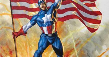 Captain America #1 Variant by Joe Jusko