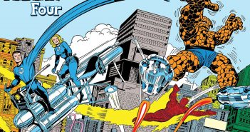 Jack Kirby Fantastic Four Poster