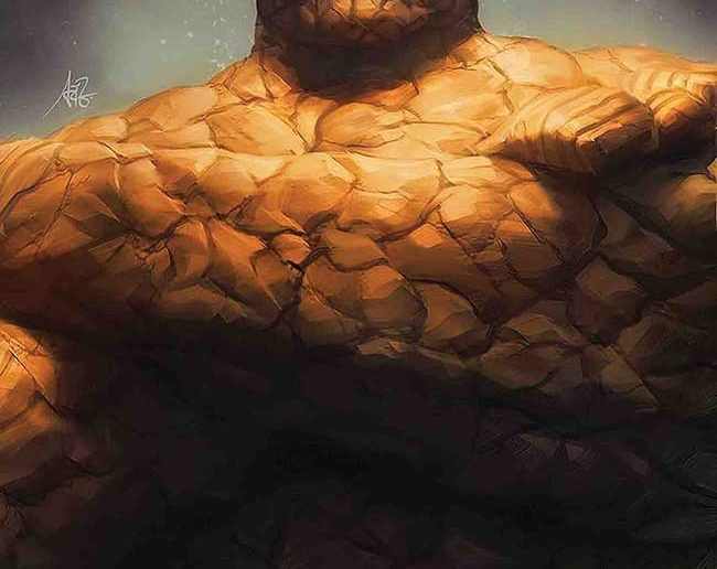 Fantastic Four #1 The Thing Artgerm variant