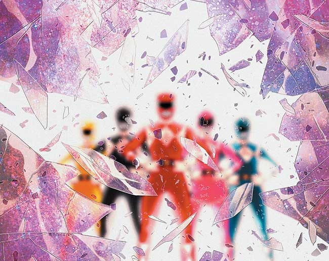 Power Rangers: Shattered Grid #1