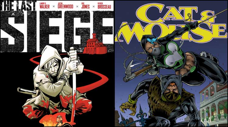 Wayne's Comics Podcast #331: Landry Q. Walker and Justin Greenwood, Roland Mann, Dean Zachary, Barb Kaalberg and Kevin Gallegly