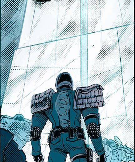 Judge Dredd by Babs Tarr