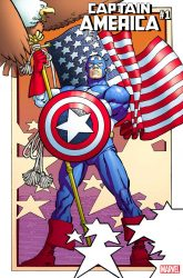 Captain America #1 Variant by Frank Miller and Leinil Yu