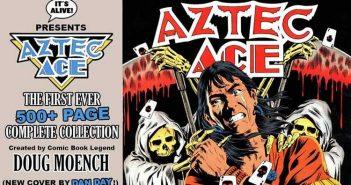 Wayne Hall, Wayne's Comics, Drew Ford, Doug Moench, Master of Kung Fu, Batman, Aztec Ace, IDW, It's Alive, Kickstarter, Bane