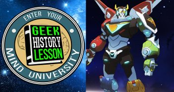 Voltron Geek History Podcast
