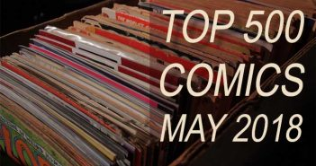 Top 500 Comics for May 2018