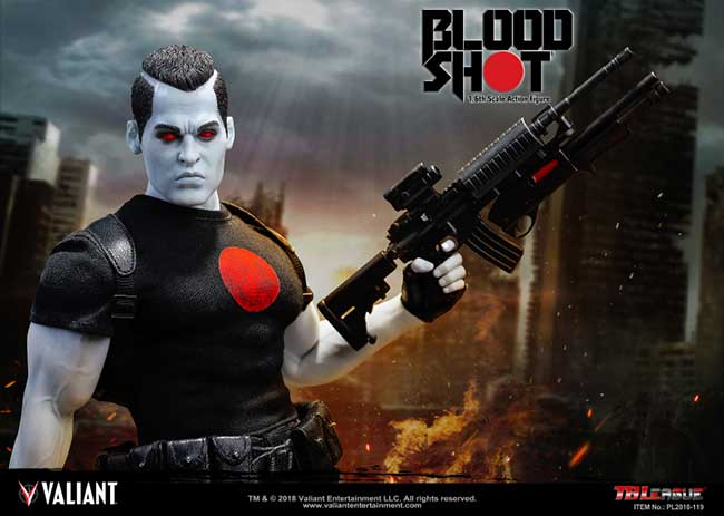 Bloodshot 1/6th Scale Action Figure