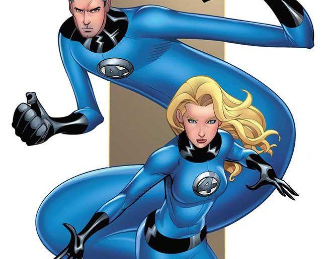 Mike Wieringo Fantastic Four #1 Variant