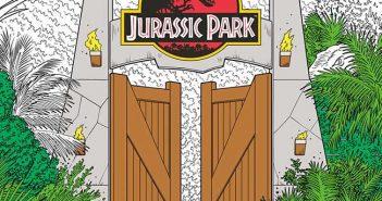 Jurassic Park Color Book Jurassic World Coloring Book