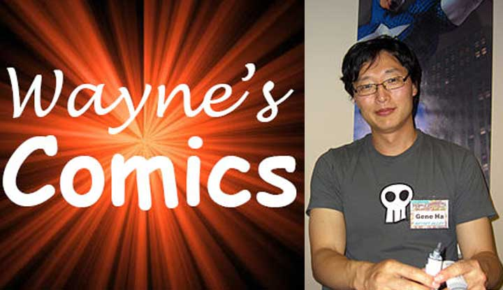 Wayne's Comics Podcast Interviews Gene Ha