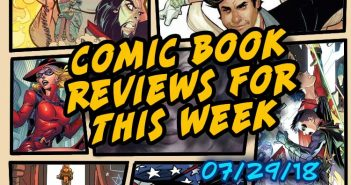 Comic book Review for the Week: July 29, 2018