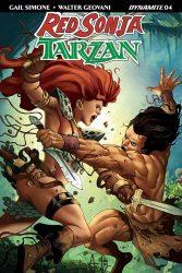 Red Sonja / Tarzan #4