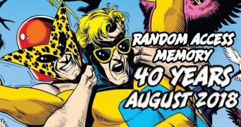 RANDom Access Memory August 2018
