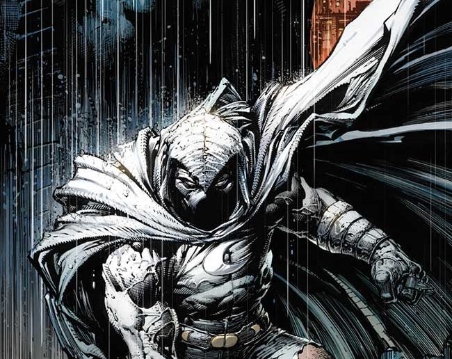 Moon Knight #200 Variant Cover by David Finch