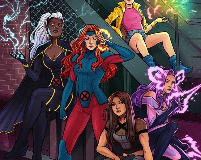 Uncanny X-Men #1 Variant Cover by Jen Bartell