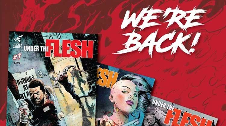 Wayne Hall, Wayne's Comics, Gil Deltrez, Under the Flesh, Lair, demon, zombie, Indie comic, JL Giles,