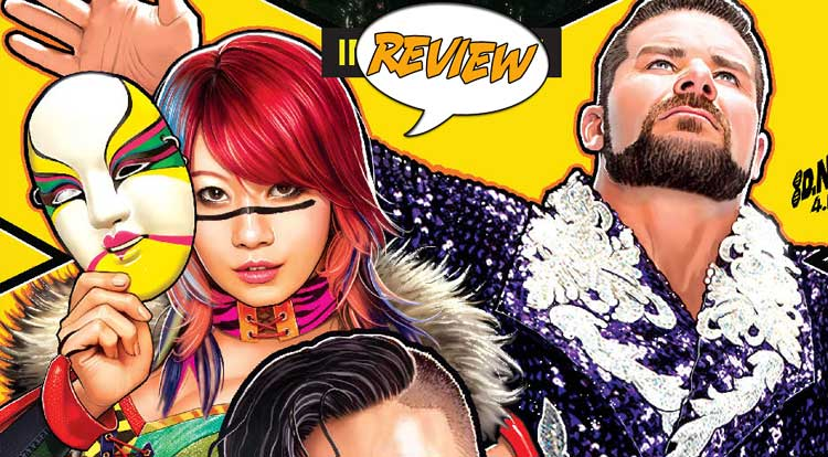 WWE NXT TAKEOVER: INTO THE FIRE #1 Review