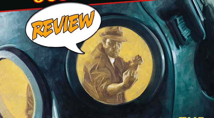 Joe Golem Occult Detective Drowning City #1 Review