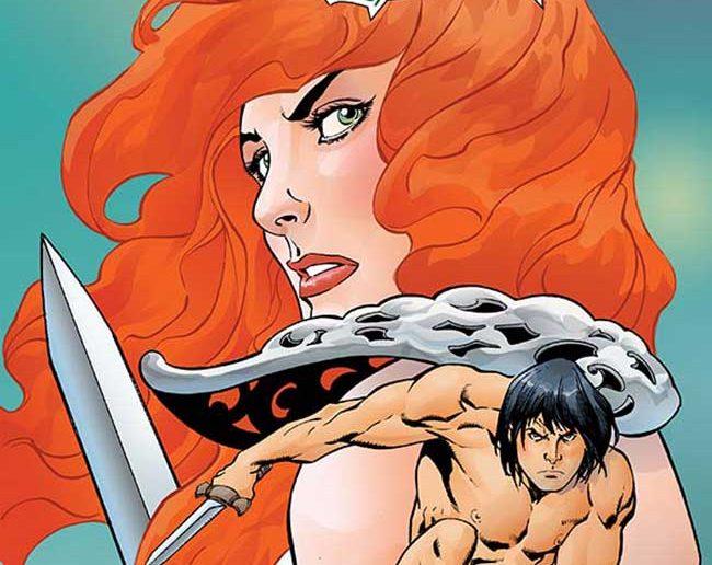 Red Sonja / Tarzan #5