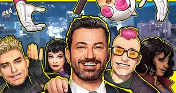 West Coast Avengers #4 Jimmy Kimmel Variant Cover