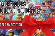 Major Spoilers Holiday Gift Guide 2018 Video Game Edition