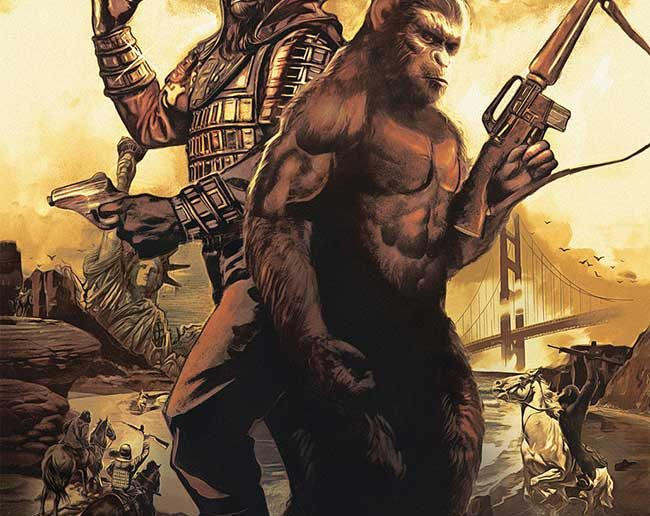 Planet of the Apes: The Simian Age