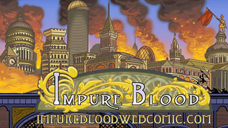 Wayne Hall, Wayne's Comics, Impure Blood, Comixology, Nathan Lueth, Nadja Baer, Melting Down, C2E2, Dara, Auhle, Caspian, Mac, Roan, Elnore, Jaem, Kaleb, Ancient Blood, Temple of the Ancients,