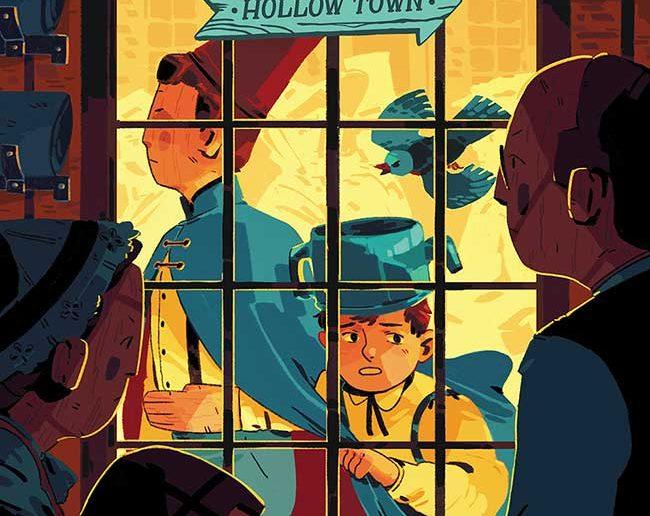 Over the Garden Wall: Hollow Town #4