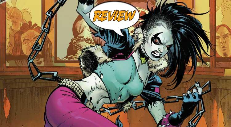 Teen Titans #25 QOTD