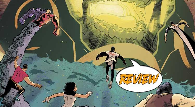 Terrifics #10 Review