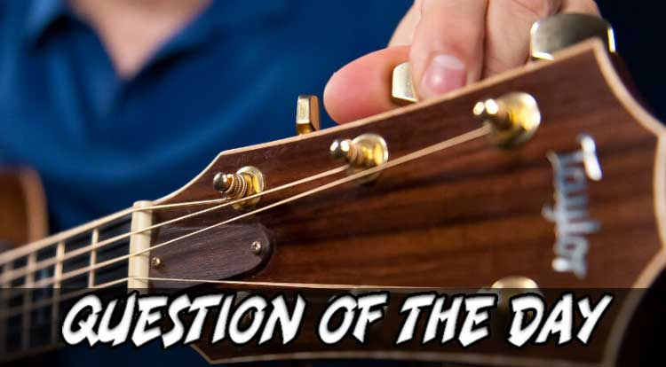Guitar Lessons QOTD