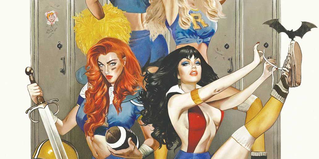 Red Sonja and Vampirella meet Betty and Veronica