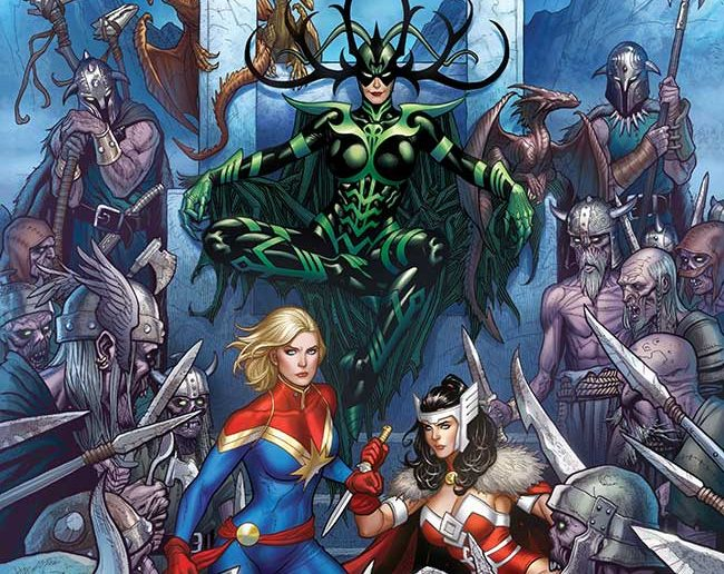 War of the Realms Frank Cho Variant